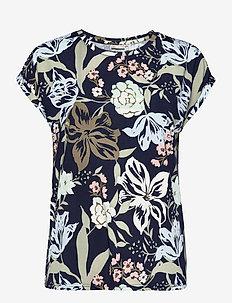 FRVESEEN 1 T-shirt - t-shirts - navy blazer mix