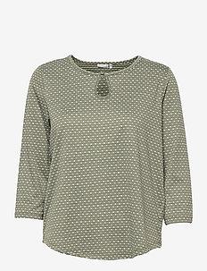 FRVEJACQ 1 Blouse - blouses met lange mouwen - hedge mix