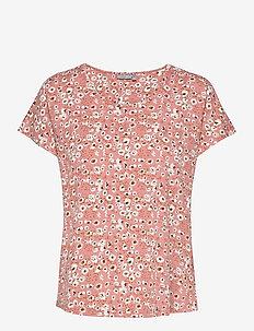 FRVEDOT 1 T-shirt - t-shirts - misty rose mix