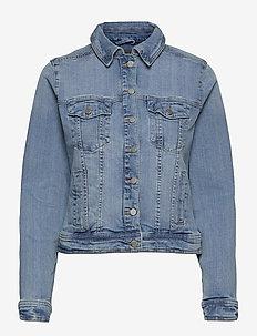 FRVOCUT 1 Jacket - spijkerjassen - clear blue denim
