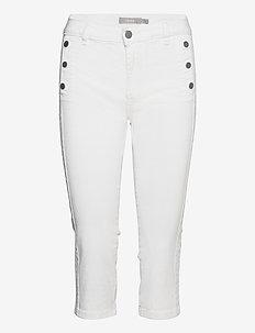 FRVOMAX 2 Pants - pantalons capri - white