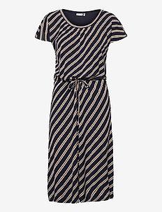 FRVESUNNA 2 Dress - zomerjurken - navy blazer mix