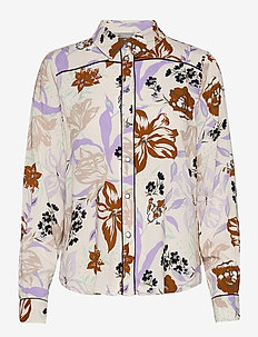 FRVAGEO 2 Shirt - overhemden met lange mouwen - misty lilac mix