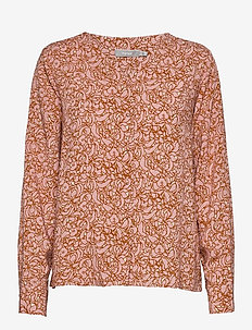 FRVALEAF 3 Blouse - blouses met lange mouwen - misty rose mix