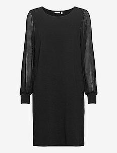 FRNEFANCY 3 Dress - midi dresses - black