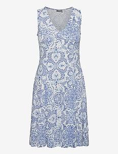 FRAMDOT 3 Dress - zomerjurken - palace blue mix