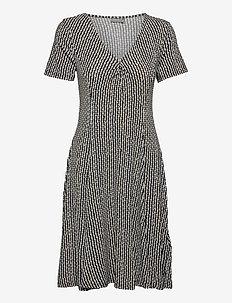 FRAMDOT 5 Dress - zomerjurken - navy blazer graphic mix