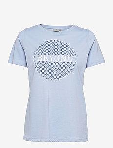 FRPETEE 2 T-shirt - hihattomat topit - brunnera blue
