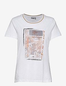 FRVEKAM 2 T-shirt - t-shirts - autumn maple