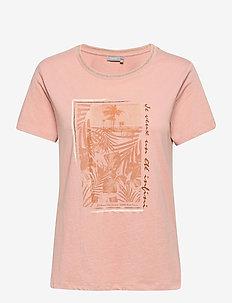 FRVEKAM 2 T-shirt - t-shirts - misty rose