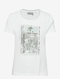 FRVEKAM 2 T-shirt - t-shirts - white