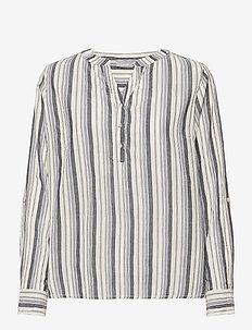 FRVAVIS 2 Blouse - blouses met lange mouwen - navy blazer mix