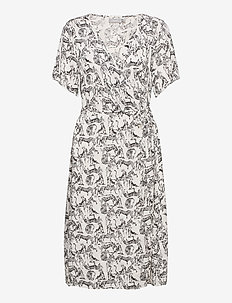 FRALCRINKLE 2 Dress - zomerjurken - birch mix