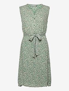 FRALCRINKLE 3 Dress - zomerjurken - clover green mix