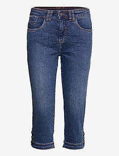 FRASJEAN 3 Knickers - capri bukser - simple blue denim