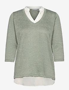 FRVEREXAN 1 Pullover - truien - lily pad melange
