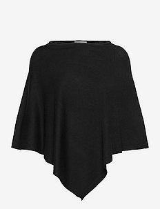 FAZUBASIC 1 Poncho - ponchos & capes - black