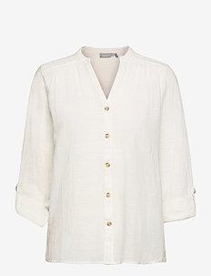 FRALSLUB 7 Shirt - blouses met lange mouwen - antique
