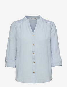 FRALSLUB 7 Shirt - blouses met lange mouwen - cashmere blue