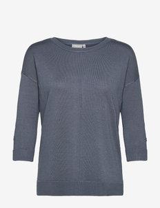 FRBESMOCK 2 Pullover - - strikkede toppe - bering sea