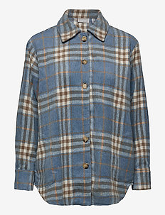 FXTEJACKET 1 Shirt - overskjorter - dusty blue mix