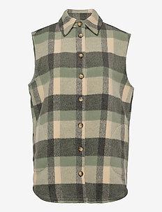 FXTACHECK 3 Waistcoat - puffer vests - lily pad mix