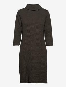 FRCECARDI 4 Dress - gebreide jurken - green ink