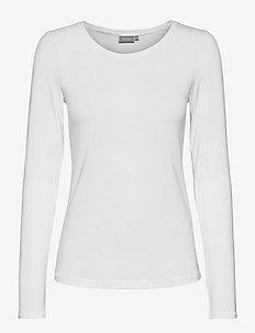 Kasic 1 Tshirt - långärmade toppar - (noos) white