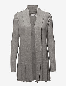 Zubasic 61 Cardigan - gilets - light grey melange