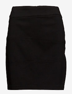 Zalin 3 Skirt - korte nederdele - black