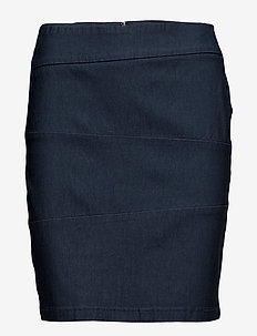 Zalin 3 Skirt - DARK PEACOAT