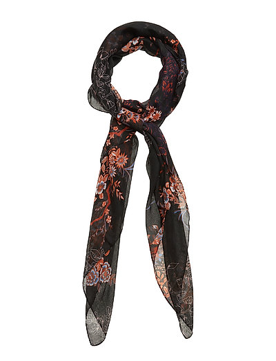Q-Pakimono 1 Scarf - BLACK MIX