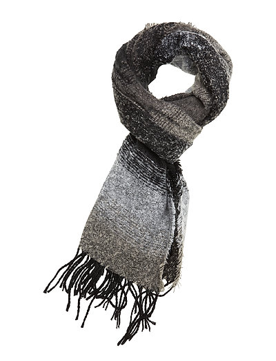Q-Pistripe 1 Scarf - BLACK MIX