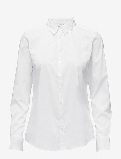 Zashirt 1 Shirt - langærmede skjorter - white