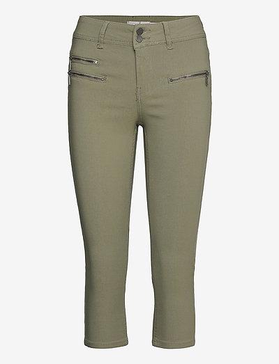 Zalin 10 Capri Pants - capri bukser - hedge