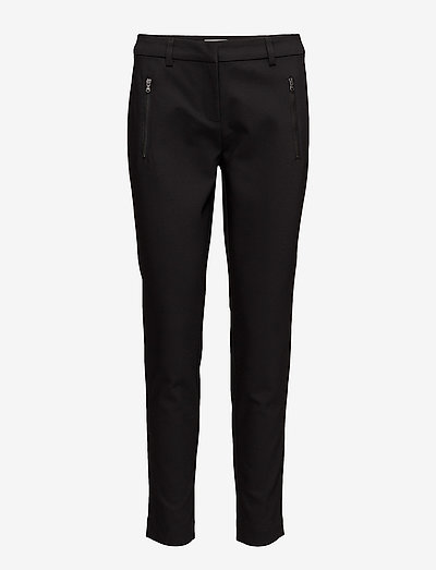 Zapant 1 Pants - bukser med lige ben - black