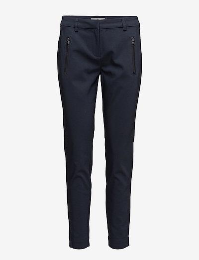 Zapant 1 Pants - bukser med lige ben - dark peacoat