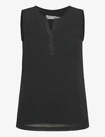 Zawov 3 Top - Ærmeløse bluser - black
