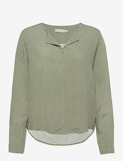 FRHAZAVISK 1 Shirt - langærmede bluser - lily pad mix