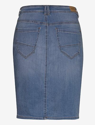 Fransa Frjozoza 1 Skirt- Röcke Cool Blue Denim