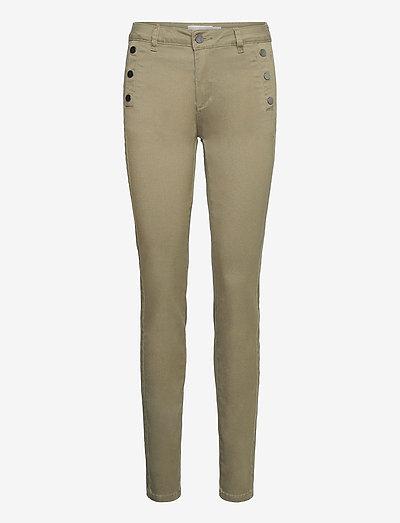 FRLOMAX 1 Pants - slim fit bukser - hedge