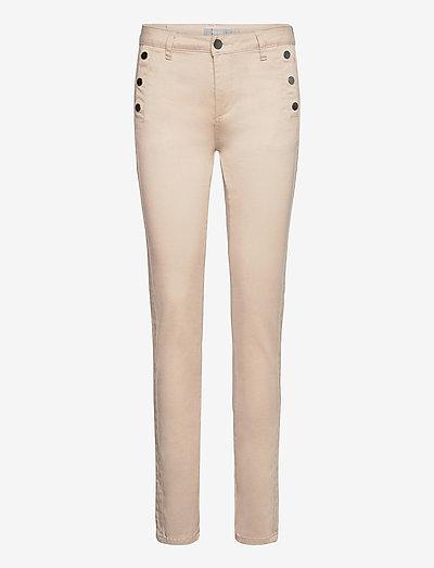 FRLOMAX 1 Pants - slim fit bukser - oxford tan