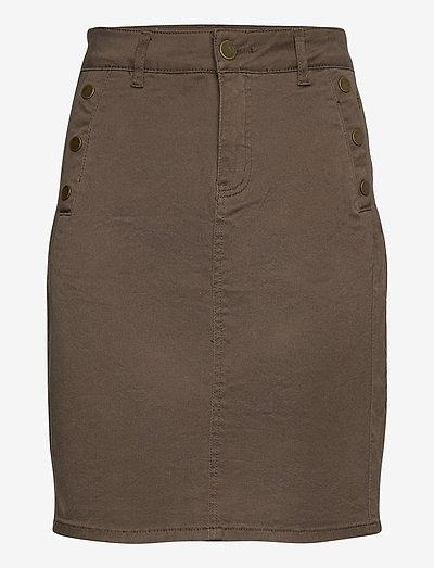 FRLOMAX 3 Skirt - korte nederdele - green ink