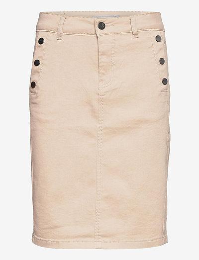 FRLOMAX 3 Skirt - korte nederdele - oxford tan