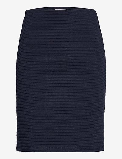 FRZARILL 2 Skirt - midinederdele - dark peacoat