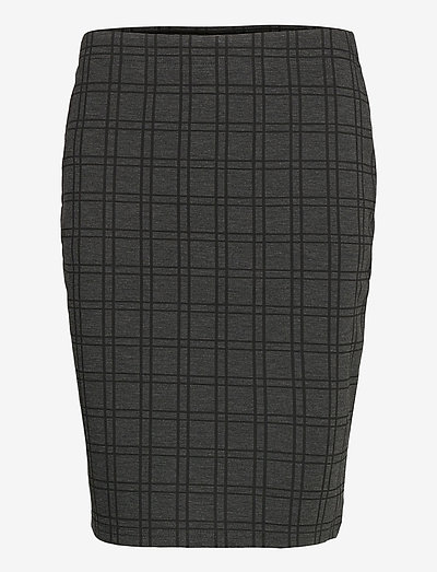 FRMECHECK 4 Skirt - pencil skirts - raw melange