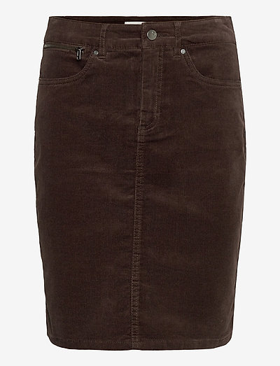 FRMACORD 2 Skirt - pencil skirts - coffee bean