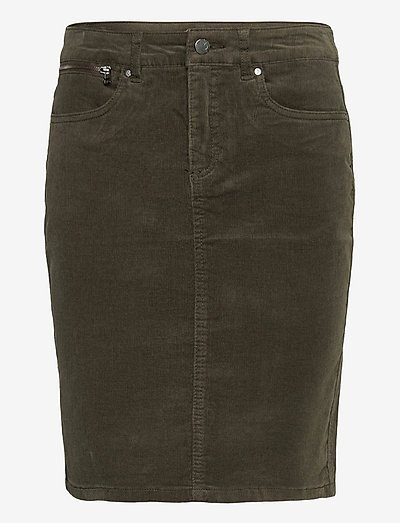 FRMACORD 2 Skirt - pencil skirts - green ink