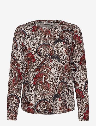 FRMESOFT 1 Pullover - langærmede toppe - light grey melange mix