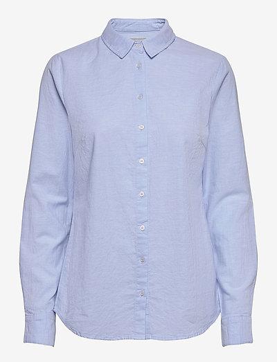 FRZAOXFORD 1 Shirt - langærmede skjorter - blue chambré